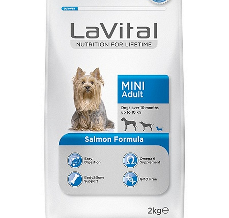 LA VITAL DOG MINI ADULT SALMON 2  KG -