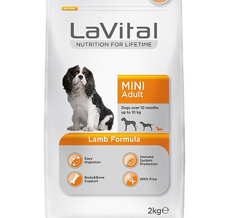 LA VITAL DOG MINI ADULT LAMB 2 KG -